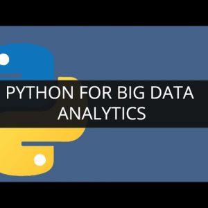 Python для аналитики больших данных